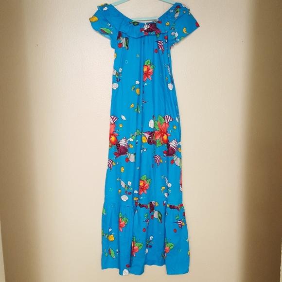 f7c358e66a6 Vintage Hilo Hattie Hawaiian Dress Mumu
